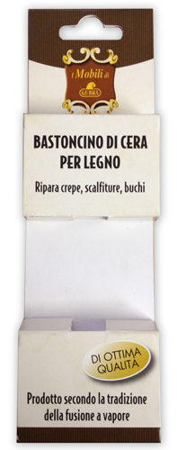 Packaging blister bastoncini cera Gubra